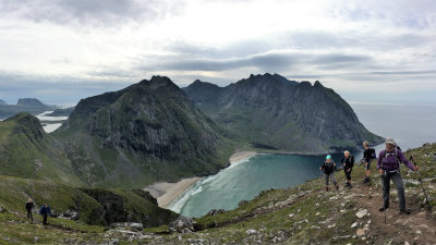 Hike the Amazing Lofoten Isles with guide