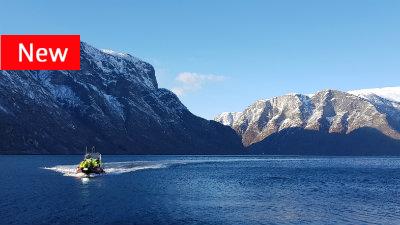 Winter adventures in Flåm