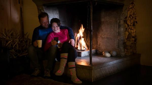 Romantisk vinterhelg i Jotunheimen
