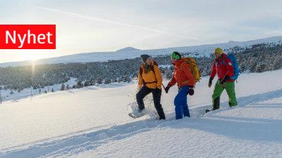 Vinterpakke på Hindsæter, Jotunheimen