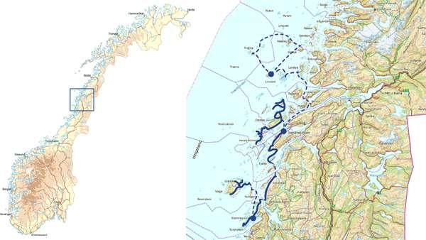 helgeland kart Norway   Bike Helgeland   Self guided | Discover Norway helgeland kart