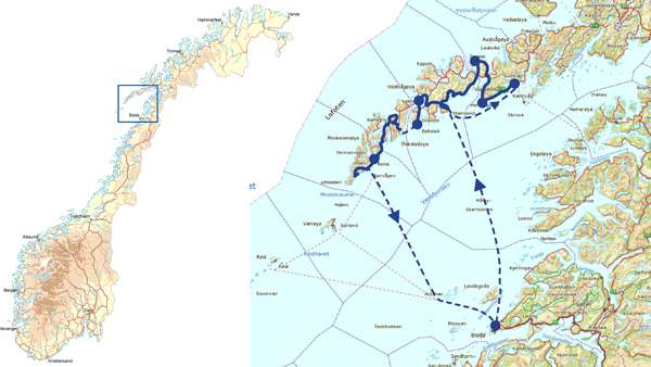 kart norge lofoten Norway   Bike Lofoten   Self guided | Discover Norway kart norge lofoten